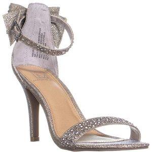 Material Girl silver heels